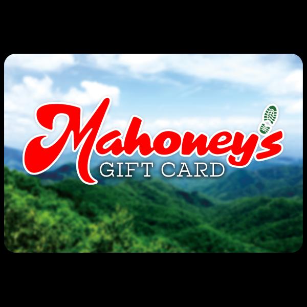 MAHONEYS GIFT CARD