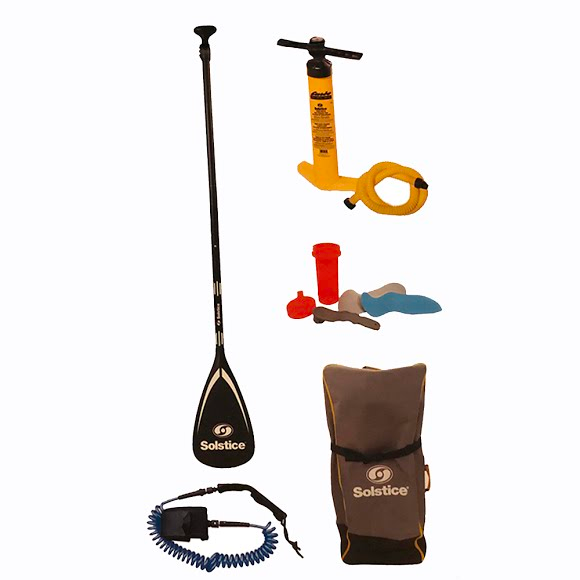 SOLSTICE 11 FOOT TOURING ISUP STAND UP PADDLE BOARD KIT