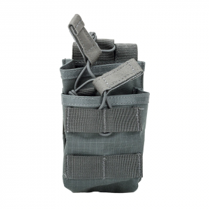 Blackhawk S.T.R.I.K.E. Tier Stacked SR25/M14/FAL Mag Pouch - MOLLE Urban Gray