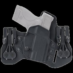 "Blackhawk Leather Tuckable Pancake Holster - Glock 45 / S&W M&P - 4.25"" Barrel - Right Hand"