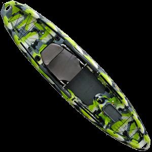 3 Waters Big Fish 120 Sit-On-Top Kayak - Green Camo