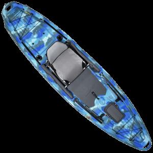 3 Waters Big Fish 120 Sit-On-Top Kayak - Wave Camo