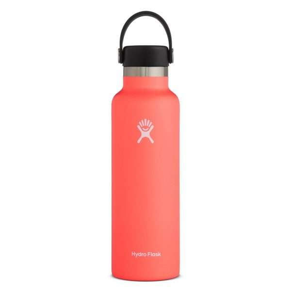 HYDRO FLASK STANDARD MOUTH 21 OZ HIBISCUS