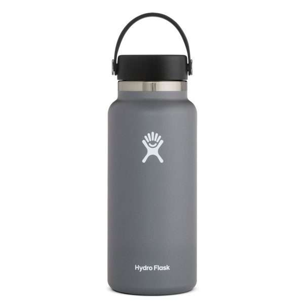 HYDRO FLASK 32 OZ WIDE MOUTH STONE