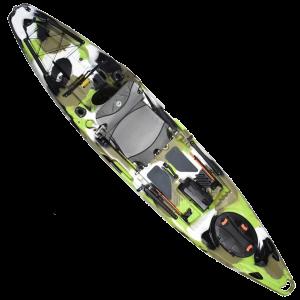 Feelfree Moken 12.5 V2 Sit-On-Top Kayak - Lime Camo