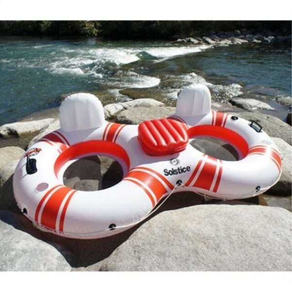 Solstice Super Chill Duo 2-Person River Raft with Cooler 17002
