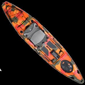 Feelfree Moken 12.5 V2 Sit-On-Top Kayak - Fire Camo
