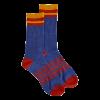 Mahoney's Merino Wool Crew Socks - BLUE SOLID