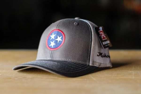 Mahoney's Tri-Star Low Pro Trucker Hat - Brown/Khaki
