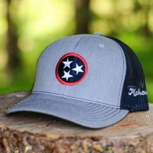 Mahoney's Tri-Star Trucker Hat - Grey/Navy