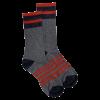 Mahoney's Merino Wool Crew Socks - GRAY SOLID
