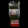 Mahoney's Merino Wool Crew Socks - GREEN SOLID