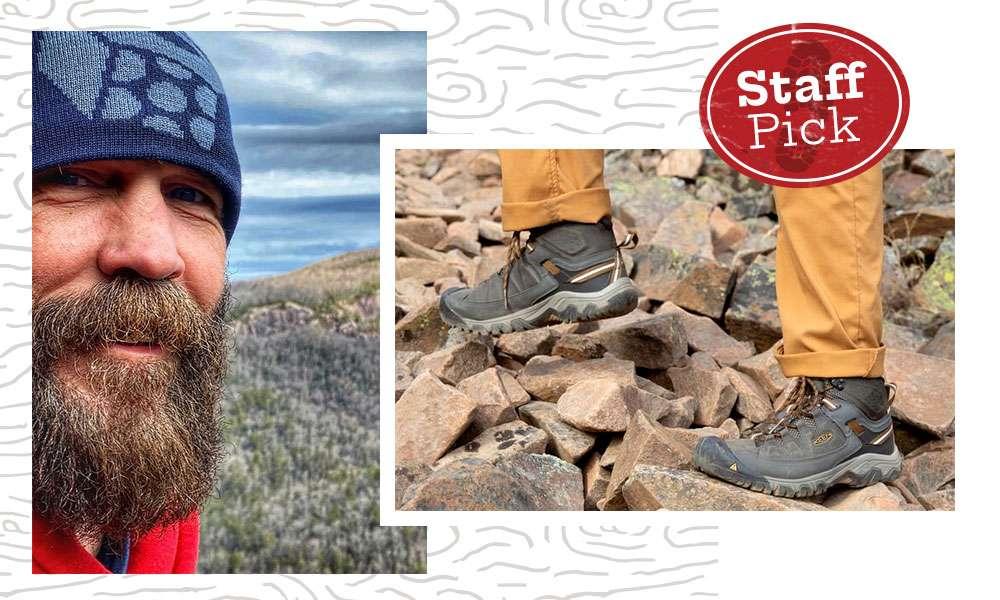 Men's Keen Targhee III Mid Waterproof Hiking Boot