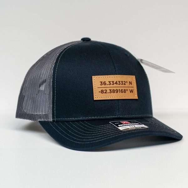 Mahoney's Johnson City, TN GPS Coordinates Trucker Hat 112
