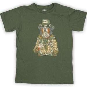 Kid's Mahoney's Hiking Hound Short Sleeve Shirt