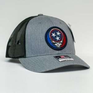 Mahoney's Dead Skull Tri-Star Low Pro Trucker Hat 115HGDCH